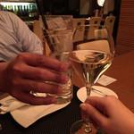 33792834 - ジンジャエール甘口と泡で乾杯♬