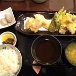 さくら - 鯛の天ぷら定食