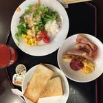 横浜マンダリンホテル - 2014年12月28日。1日目は洋食バージョンに。