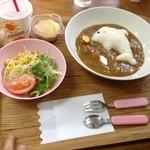 とけい台食堂 - お子様カレー680円