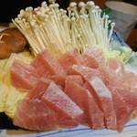 浅草一文 - ねぎま鍋具材