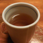浅草一文 - 〆のお茶