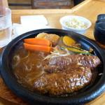 炭焼きハンバーグ 牛吉 - レギュラーハンバーグ ¥850