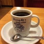 コメダ珈琲店 - ホットコーヒー420円