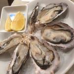 オイスタープレート - 生牡蠣6Pセット