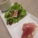 オイスタープレート - 牡蠣グラタンの前菜