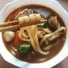 Menichi - 料理写真:めんいちの麺とらくbカレーうどんスープのコラボ(^o^)