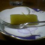 福来魚 - なすびのデザート