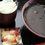 読谷村漁業協同組合 海人食堂 - いか墨汁