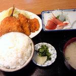 弥次喜多 - 弥次喜多の魚河岸定食!