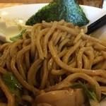 らー麺Chop - まぜそば after