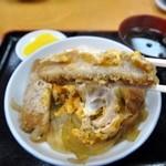 三朝庵 - どこにでもある普通のカツ丼ですから