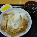三朝庵 - 元祖といわれているカツ丼¥790