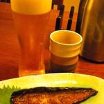 芳とも庵 - ビールで