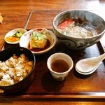 竹林亭 - 定食