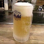 お好み焼き たいこや - 生ビール