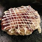 お好み焼き たいこや - たいこ焼き490円 豚玉+そば