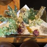 九重 自然観 - 料理写真:山菜定食の一部