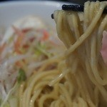 麺 チキンヒーロー - 麺はこんな感じ!