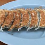 旬麺 - 餃子