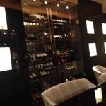 Bar Hitomi - ワインセラー