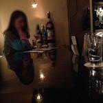 ダイニングバー ヒトミ - カウンターテーブル