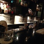 Bar Hitomi - カウンターからの眺め