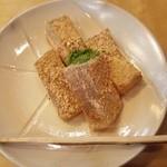 伊藤久右衛門 - きな粉、抹茶のかかった『わらび餅』に、さらに抹茶粉をかけて頂く~♪(^o^)丿