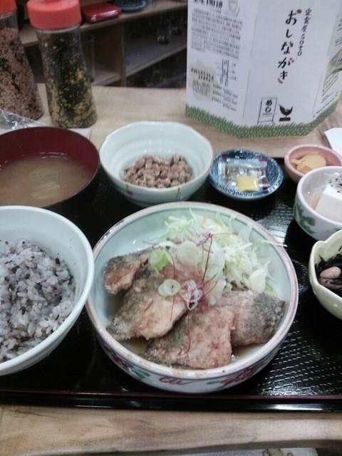 soto - 鯖の竜田揚げおろしポン酢定食