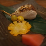 わら家 - わら家の5000円コース。焼物:さわらの西京焼き(14.12)
