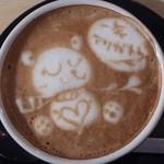 33808264 - 2014年ラストのカフェラテ♪