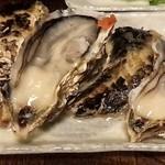 串焼き 北の宿六 - 料理写真:生かき