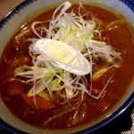そば酒房 蕎麦しん - カレー南蛮うどん ¥700