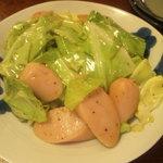 味彩 - 魚肉ソーセージキャベツ炒め