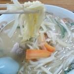 高砂食堂 - 味噌ラーメン税抜き¥600