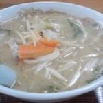 高砂食堂 - 味噌ラーメン税抜¥600