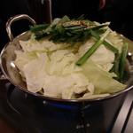 博多もつ鍋 はらへった - もつ鍋製作前