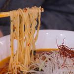 中国郷菜館 大陸風 - 1-2)担々麺の麺