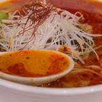 中国郷菜館 大陸風 - 1-3)担々麺のスープ