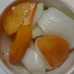 銀座若菜 - なごり柿