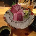 壱厘酒蔵 - ブリ刺し880円