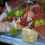 信州健康ランド お食事処 - 料理写真:刺し盛~☆