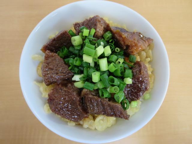 留さんうどん - 肉めし 300円