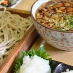 藤治朗 - おろしなめこ蕎麦
