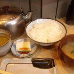 魚幾食堂 - 天ぷら定食650円(天ぷら七種)