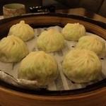 蘇杭餐廳 - 絲瓜蝦仁湯包