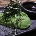鶏ジロー - アボカド刺身