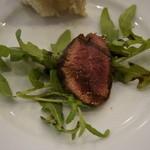 ピッツェリア・ダ・チールッツォ - お魚かお肉が選べます