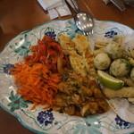 ピッツェリア・ダ・チールッツォ - 前菜の盛り合わせ、4人前