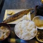 味恵 - 料理写真:焼さんま定食